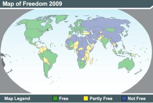 Progress in global democracy democraticpeace blog democracy map globr gumiabroncs Gallery